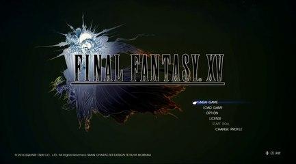 Final Fantasy XV: Les deux premières minutes du jeu de Final Fantasy XV