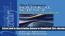 [Reads] 21st Century Political Science: A Reference Handbook (21st Century Reference) Online Books