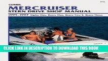[PDF] MerCruiser Stern Drive Shop Manual: 1995-1997 Alpha One, Bravo One, Bravo Two   Bravo Three