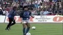 L'incroyabe échauffement de Maradona au Napoli