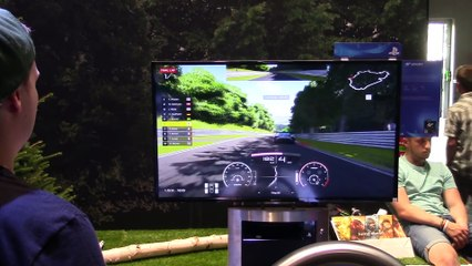 One Nürburgring lap de Gran Turismo Sport