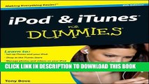 [PDF] iPod   iTunes For Dummies (For Dummies (Computers)) Full Online