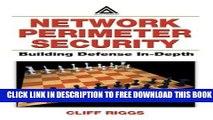 Collection Book Network Perimeter Security:  Building Defense In-Depth