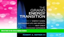 READ FREE FULL  The Grand Energy Transition: The Rise of Energy Gases, Sustainable Life and