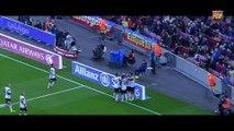 Paco Alcacer's goal vs FC Barcelona at Camp Nou (season 2013/14)