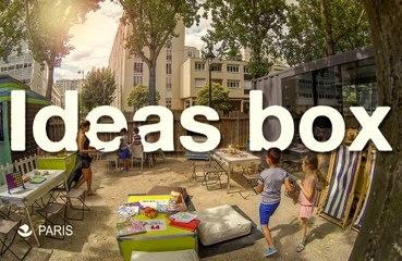 Ideas Box à Paris plages