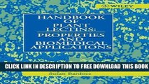Collection Book Handbook of Plant Lectins: Properties and Biomedical Applications