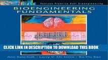 [PDF] Bioengineering Fundamentals Popular Colection