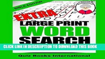 [PDF] Extra Large Print Word Search Bible Mark Vol. 1 Popular Online