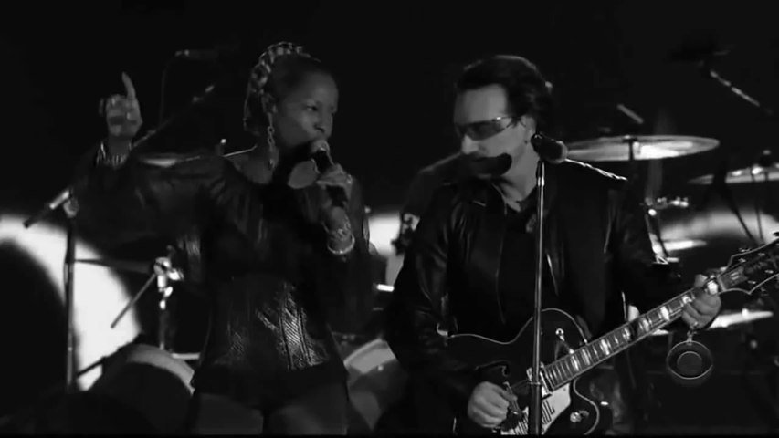 U2 Hd One Bono And Mary J Blige Vidéo Dailymotion