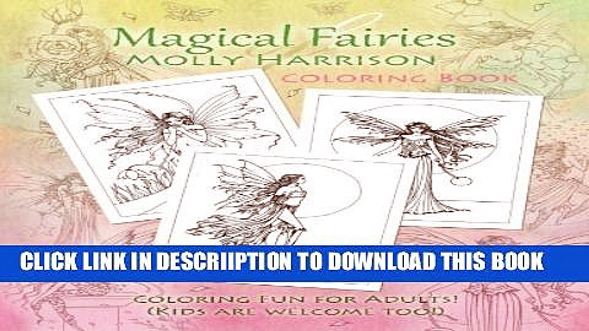 [PDF] Magical Fairies of Molly Harrison: Flower Fairies and Celestial Fairies Popular Collection