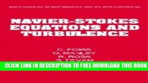 Collection Book Navier-Stokes Equations and Turbulence