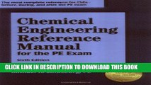 Collection Book Chemical Engineering Reference Manual for the PE Exam, 6th ed.