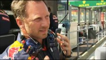 C4F1: Christian Horner post qualifying interview (2016 Belgian Grand Prix)