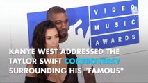 Kanye West addresses feud with Taylor Swift at VMAs