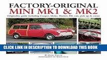 [Read PDF] Factory-Original Mini Mk I   Mk II: Originality guide including Cooper, Moke, Hornet,