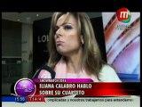 Iliana Calabró habló sobre su cuarteto