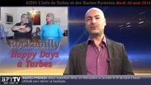 HPyTv JT65 | L'info de Tarbes et des Hautes-Pyrénées (30 août 2016)