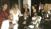 Beyonce, Jay Z, Kanye West, Kim Kardashian & Diddy Link Up For Epic Post-VMA Pic