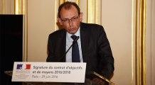 Signature du contrat d'objectifs et de moyens 2016-2018 de l'AEFE : allocution de Christophe Bouchard, directeur de l'AEFE