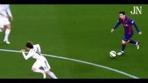 Leo Messi Vs Luka Modric -- When Luka Modric Saw Messi Coming