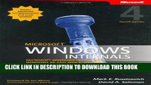 [PDF] Microsoft Windows Internals (4th Edition): Microsoft Windows Server 2003, Windows XP, and