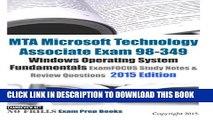 [PDF] MTA Microsoft Technology Associate Exam 98-349 Windows Operating System Fundamentals
