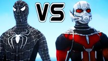 Black Spiderman Vs Ant-Man - Epic Superheroes Battle | Death Fight