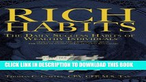 [PDF] Rich Habits: The Daily Success Habits of Wealthy Individuals Popular Colection