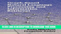 [PDF] Graph-based Natural Language Processing and Information Retrieval Popular Online