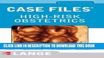 Collection Book Case Files High-Risk Obstetrics (LANGE Case Files)