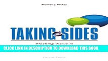 [PDF] Taking Sides: Clashing Views in Crime and Criminology Full Online