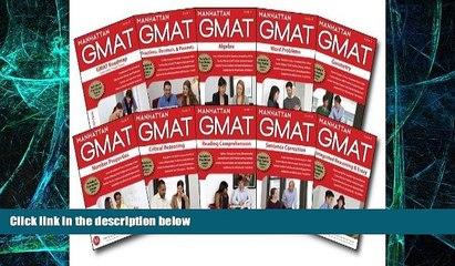 Big Deals  Manhattan GMAT Complete Strategy Guide Set, 5th Edition [Pack of 10] (Manhattan Gmat