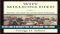 [PDF] Why Millions Died: Before the War on Infectious Diseases Popular Collection