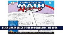 New Book Carson Dellosa Common Core 4 Today Workbook, Math, Grade 2, 96 Pages (CDP104591)