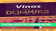[PDF] Vino Para Dummies/wine For Dummies (Spanish Edition) Full Colection