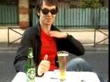 pub bierre : Mentos + carlsberg (bierre)