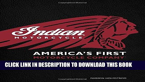 [PDF] Indian Motorcycle(R): America s First Motorcycle Company Popular Colection