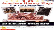 New Book 10 American History Plays for the Classroom