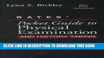 Collection Book Bates  Pocket Guide to Physical Examination and History Taking (Professional Guide