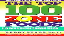 New Book The Top 100 Zone Foods: The Zone Food Science Ranking System