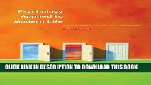 [PDF] Bundle: Psychology Applied to Modern Life: Adjustment in the 21st Century, 10th + Psychology