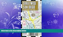 READ book  Streetwise San Diego Map - Laminated City Center Street Map of San Diego, California -