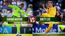 Shoaib Akhtar vs Brett Lee _ Who's The Greatest