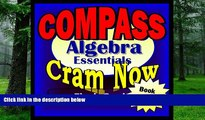 Big Deals  COMPASS Prep Test ALGEBRA REVIEW Flash Cards--CRAM NOW!--COMPASS Exam Review Book