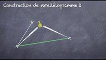 5ème Les parallélogrammes Construction et compas