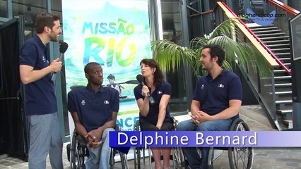 Yannick Ifebe - Delphine Bernard - Maxime Valet Rio 2016 J -50