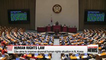 N. Korea human rights law will allow S. Korean govt. to investigate abysmal human rights abuses