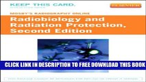 Collection Book Mosby s Radiography Online: Radiobiology and Radiation Protection (Access Code)