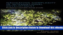[PDF] Navigating Complexity in International Development: Facilitating Sustainable Change at Scale